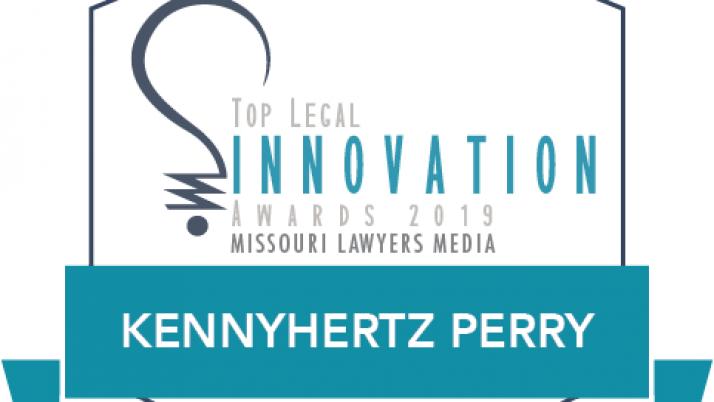 Kennyhertz Perry Recognized as a 2019 Top Legal Innovation Honoree in Missouri Lawyers Weekly