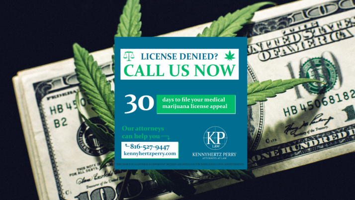 Missouri Medical Marijuana License Appeal-Call Us.